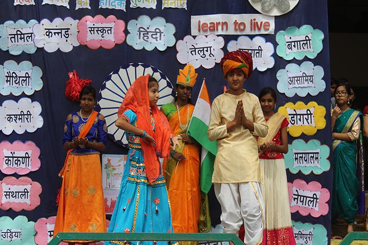 Acts Secondary School-Hindi Divas