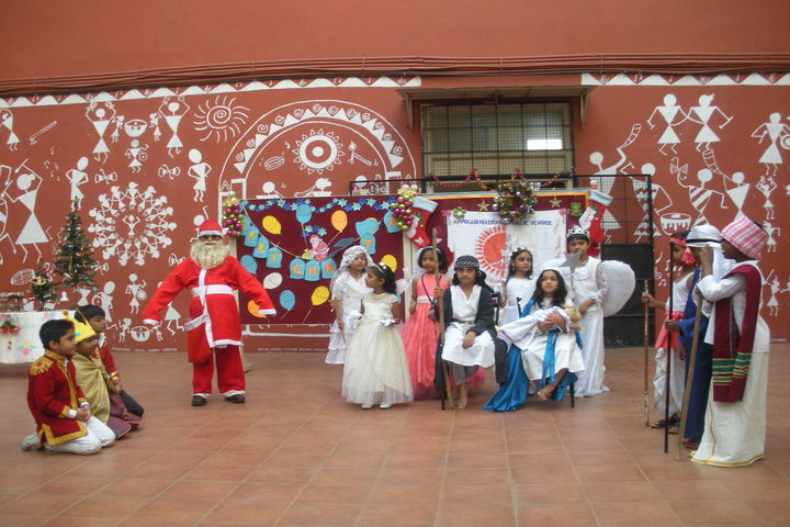 Appollo National Public School-Christmas Celebrations