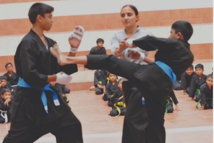 Appollo National Public School-Karate