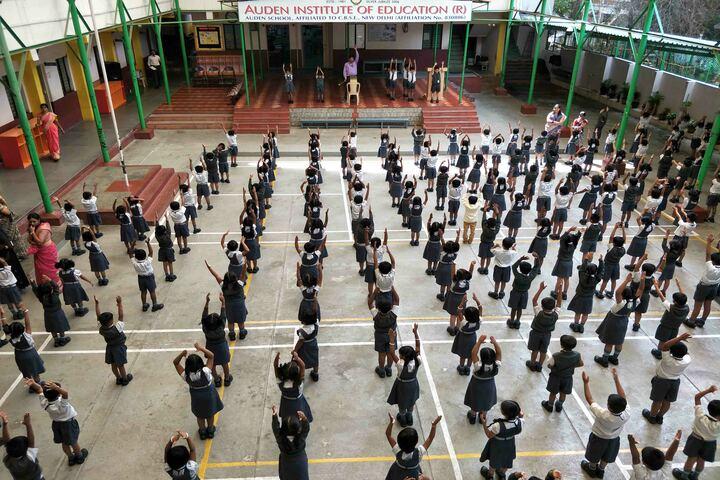 Auden School-Physical Training
