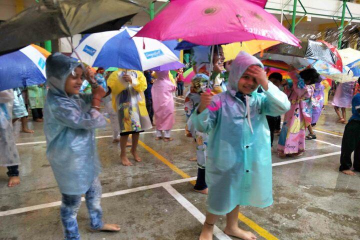 Auden School-Rain Activity