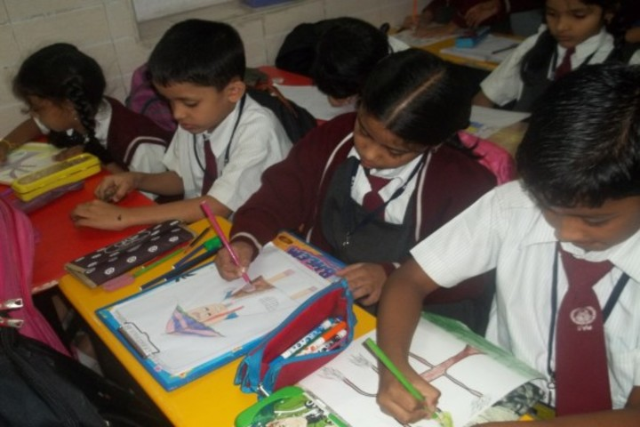 The Sudarshan Vidya Mandir-Classroom