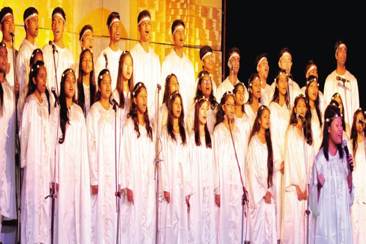 Lowry Memorial High School-Singing