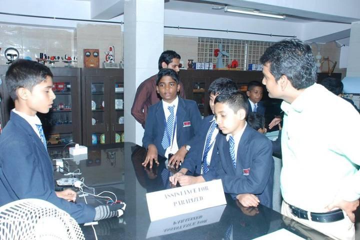 S S B International School-Science Lab