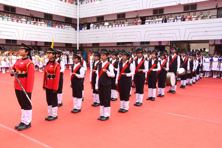 R N S Vidyaniketan-Band Troop