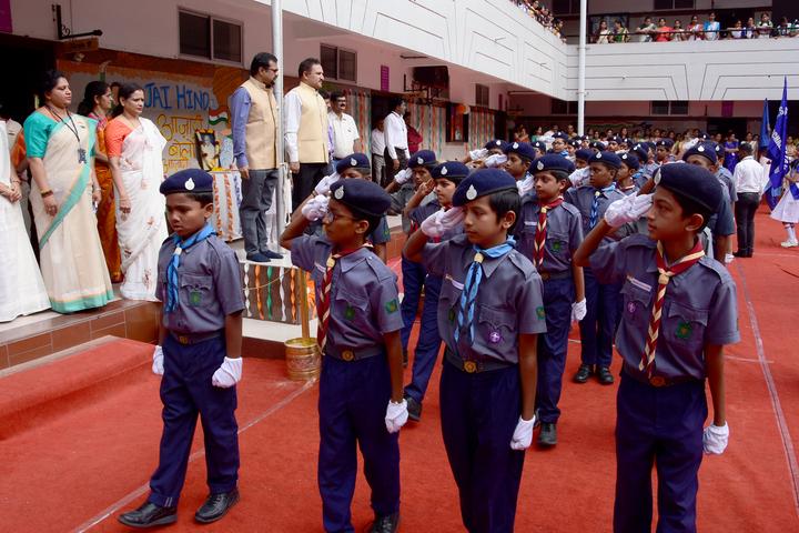 R N S Vidyaniketan-Scouts and Guide