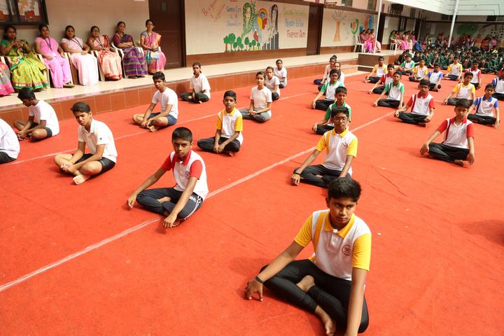 R N S Vidyaniketan-Yoga