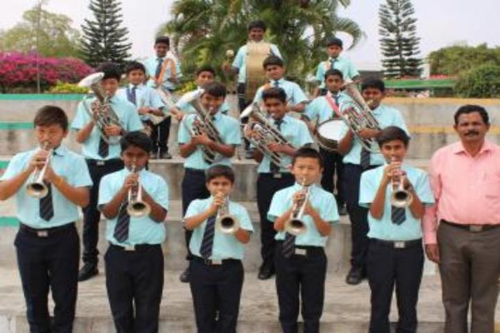 De Paul International Residential School-Band Troop
