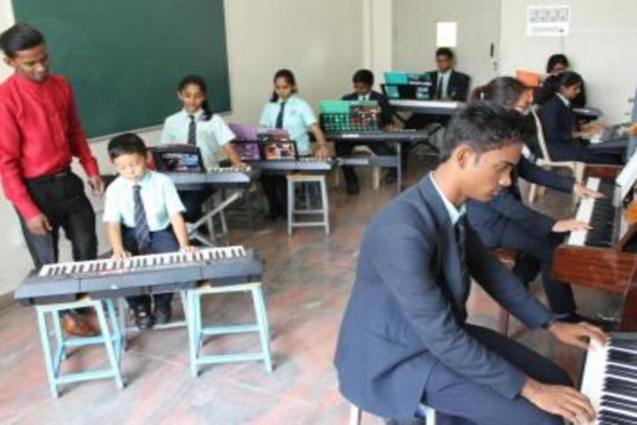 De Paul International Residential School-Music Room