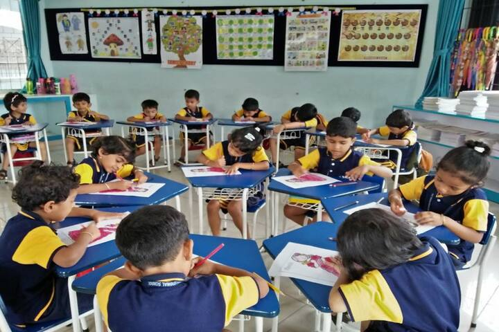 Silas International School-Activity Room