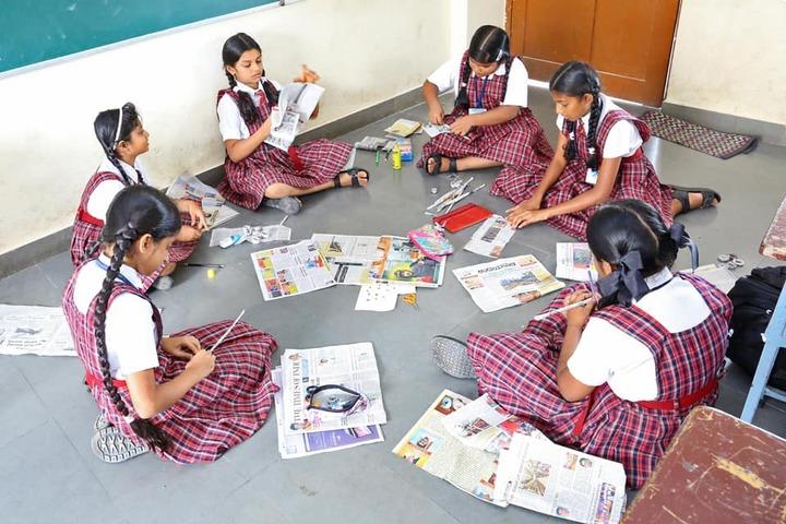 Silas International School-Art and Craft