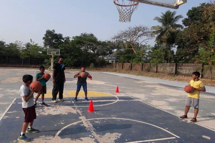Silas International School-Basketball Court