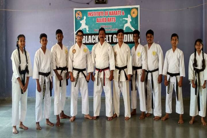 Silas International School-Karate