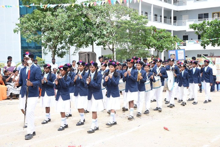 New Baldwin International School-Band Troop
