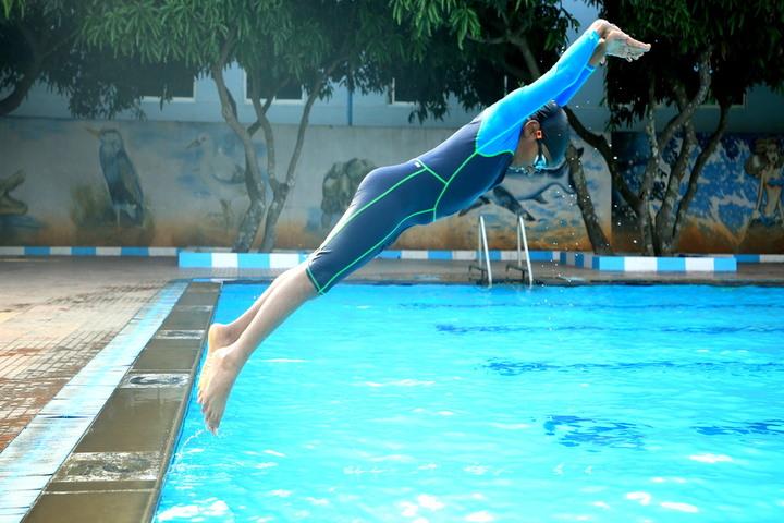 New Baldwin International School-Swimming Pool