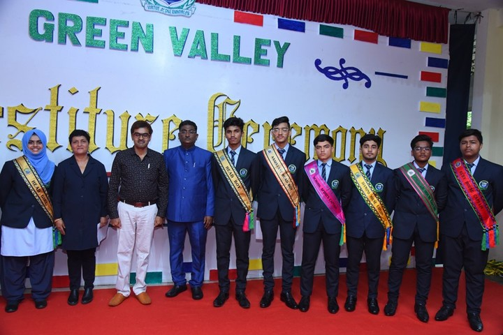 Green Valley National School-Investiture Ceremony