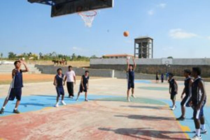 Jnanasarovara International Residential School-Basket Ball Court