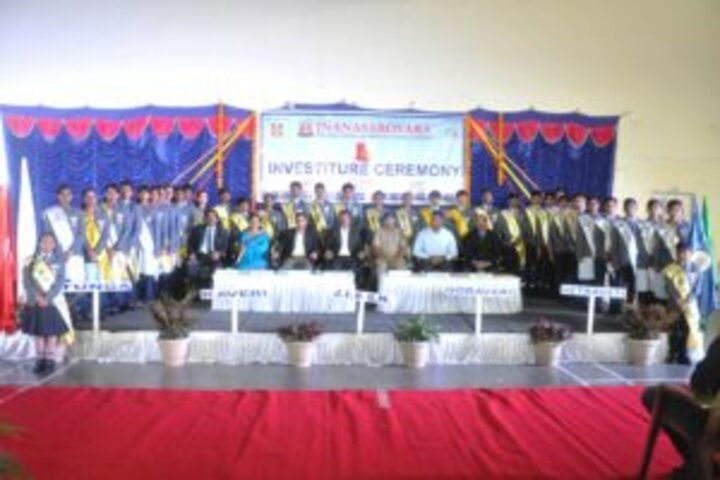Jnanasarovara International Residential School-Investiture Ceremony