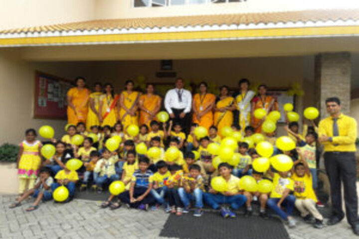 Jnanasarovara International Residential School-Yellow Day