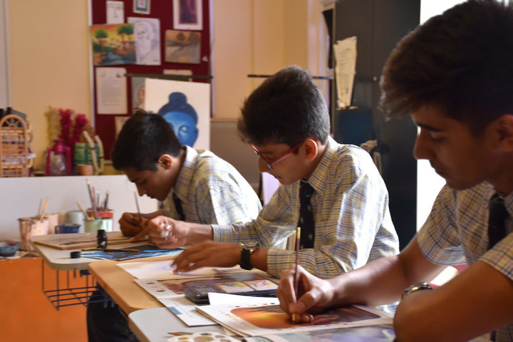Sarala Birla Academy-Art Class Room