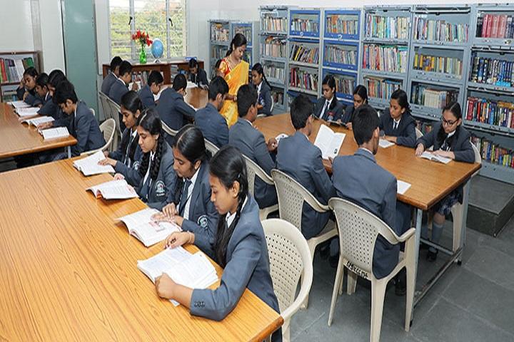 Seshadripuram Public School-Library