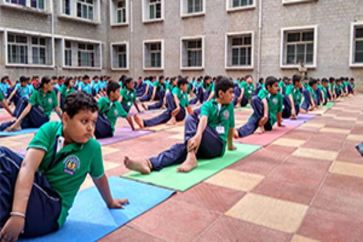 Seshadripuram Public School-Yoga