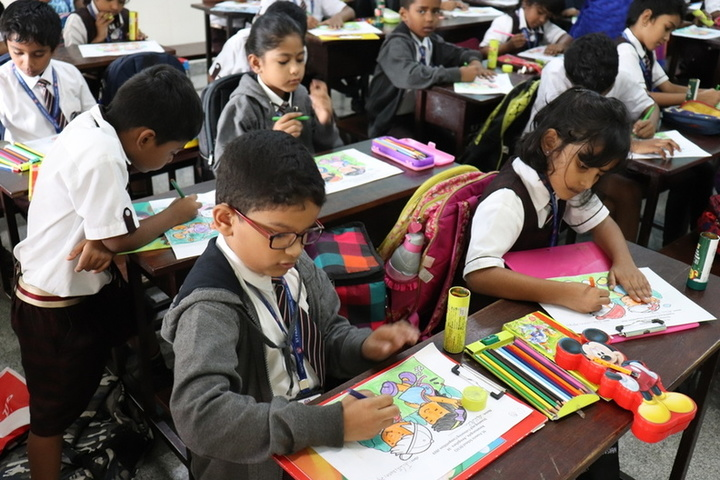 St Francis School-Drawing Competition