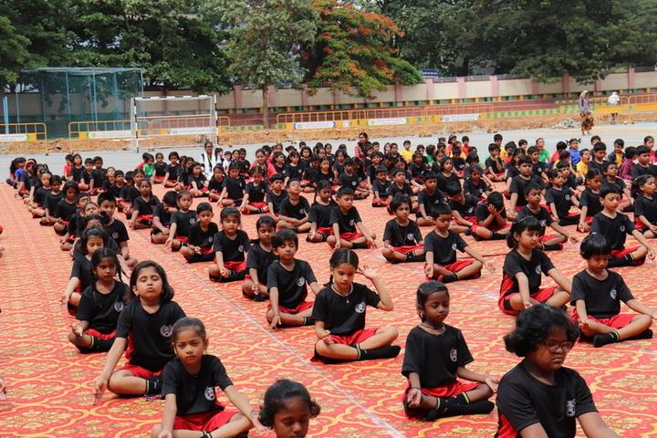St Francis School-Yoga Day