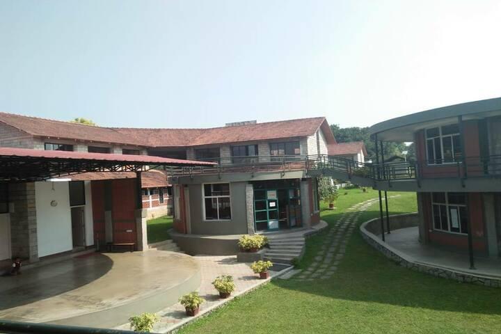 Amber Valley Residential School-Inner Campus