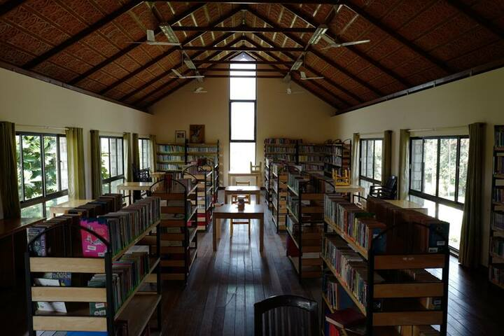Amber Valley Residential School-Library