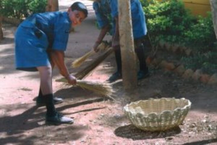 Sri Vani Education Centre-Cleanliness Drive