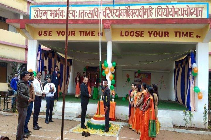DAV Mukhyamantri Public School-Flag Hosting
