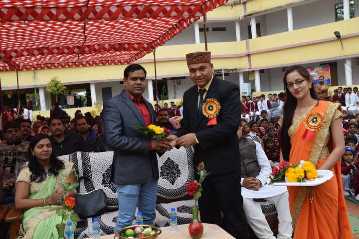 DAV Mukhyamantri Public School-Guest Lecture Welcome