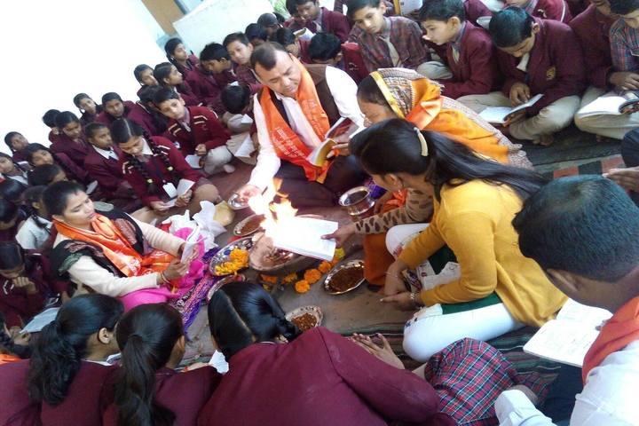 DAV Mukhyamantri Public School-Pooja