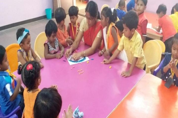 Patel Public School-Art And Craft Class