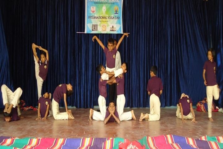 Patel Public School-Yoga Day