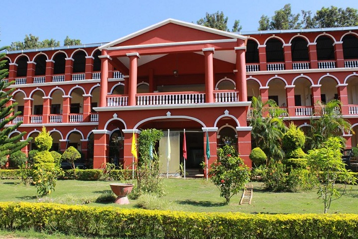 B M English School-Campus-View Front