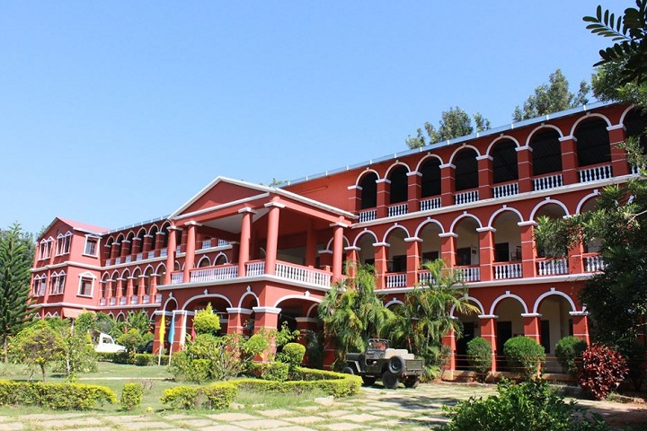 B M English School-Campus-View