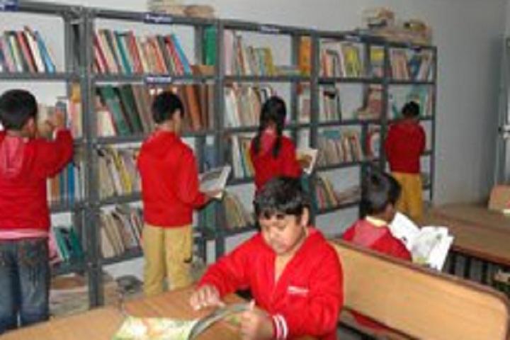 B M English School-Library
