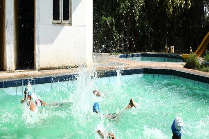 B M English School-Swimming Pool