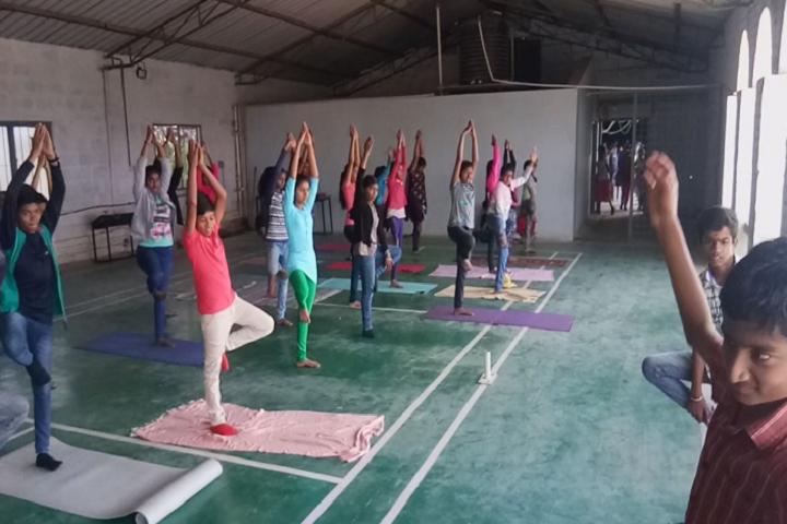 B M English School-Yoga