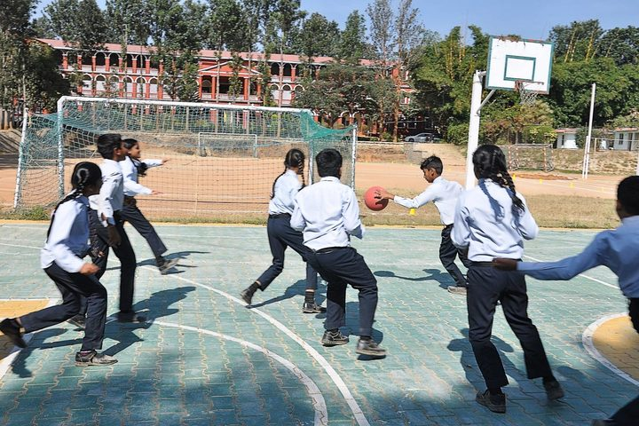 B.M. English School-Basket Ball