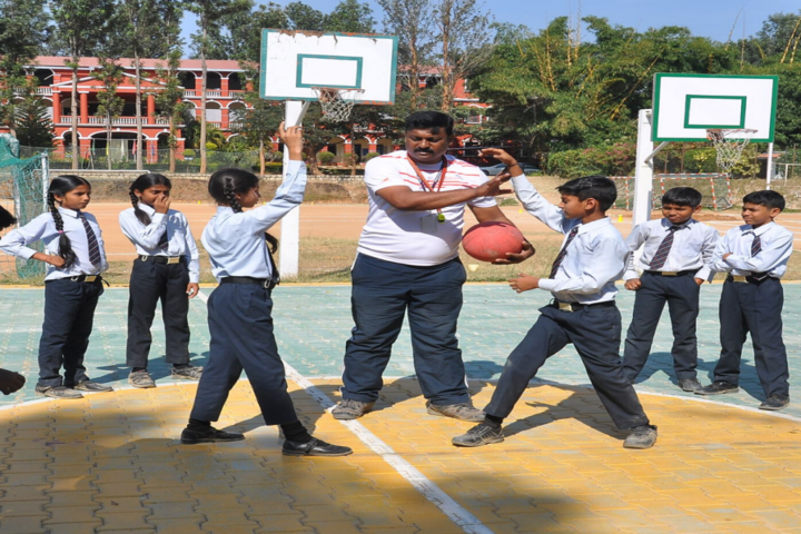 B.M. English School-Sports