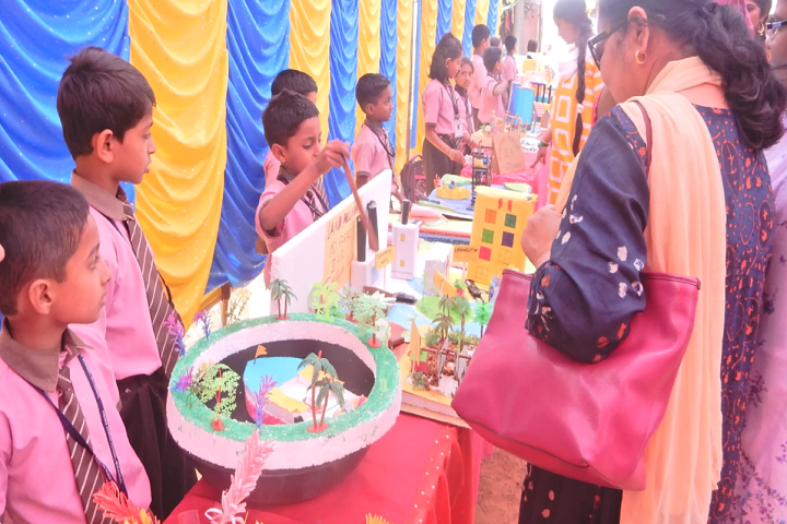 Gnana Jyothi School-Science Exhibition