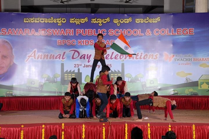 Basavarajeswari Public School And College-Independence Day Celebrations