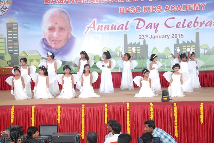 Basavarajeswari Public School And College-Nursery Students Dance