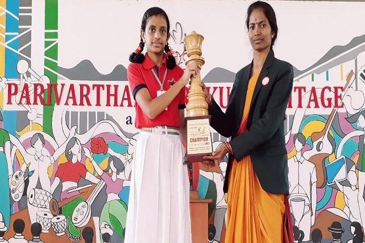 Parivarthan Gurukul Heritage English Medium School-Chess Competition Winner