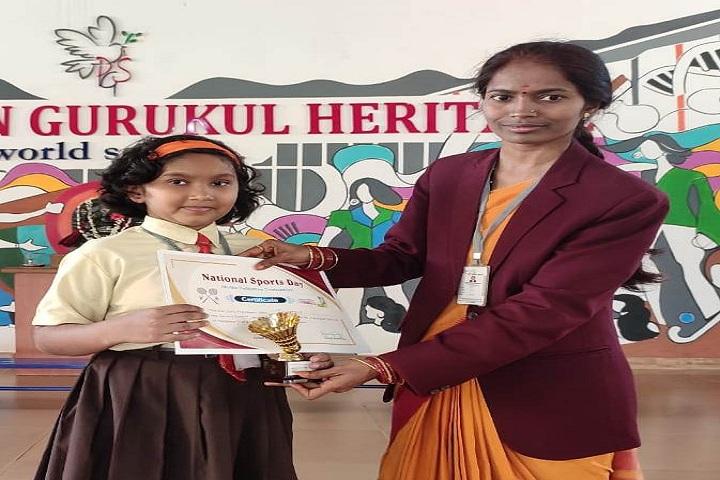 Parivarthan Gurukul Heritage English Medium School-Shuttle Badmition Winner