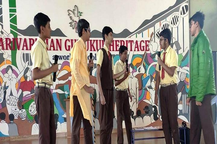 Parivarthan Gurukul Heritage English Medium School-Skit