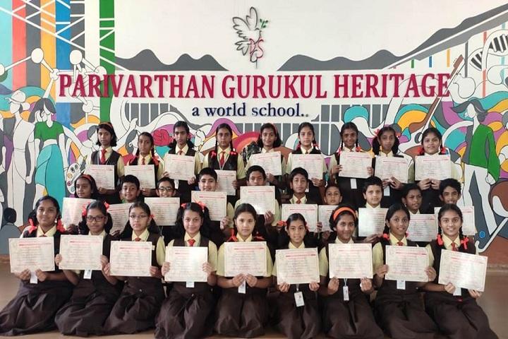 Parivarthan Gurukul Heritage English Medium School-Spelling Competition Winner